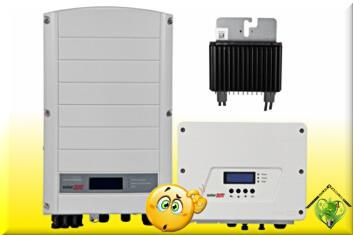Different types solar inverters